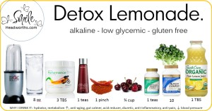detox lemonaide