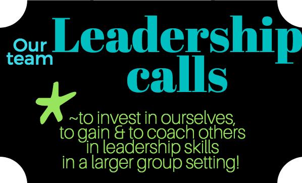 our team leadership calls