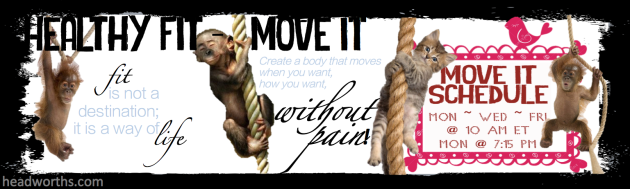 WORDPRESS healthy fit move it banner