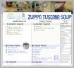 ZUPPA TUSCANA blog