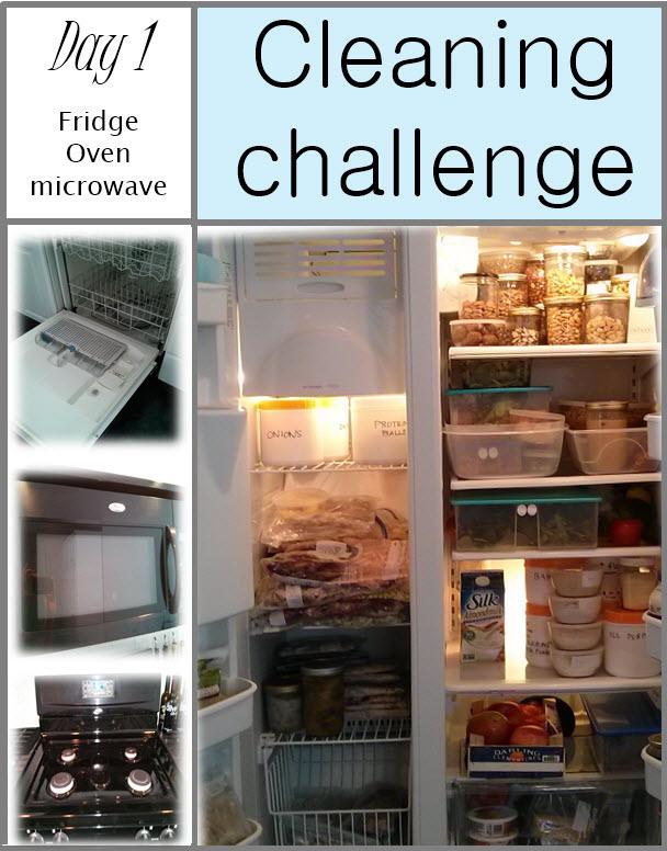GET CLEAN CHALLENGE day 1