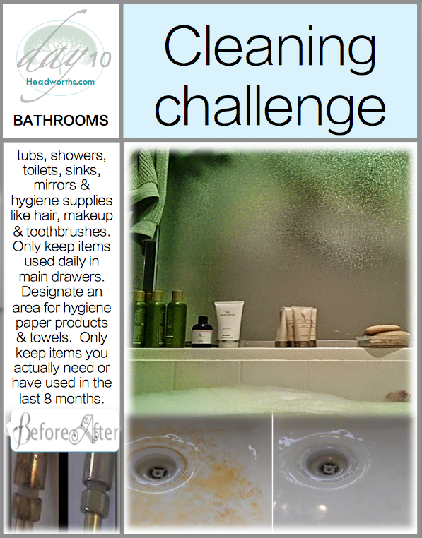 GET CLEAN CHALLENGE day 10