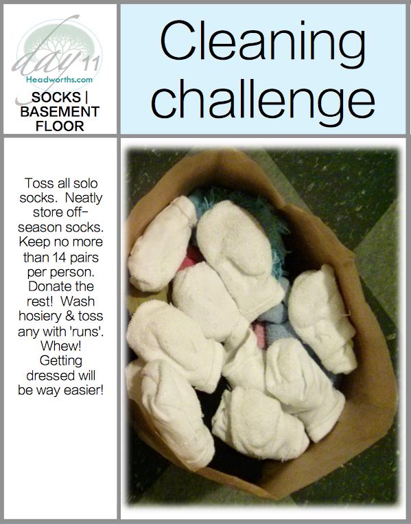 GET CLEAN CHALLENGE day 11