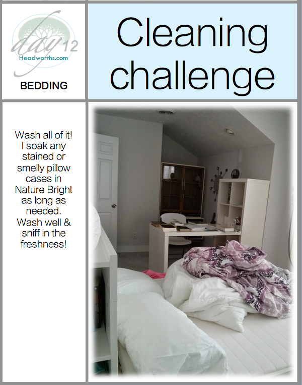 GET CLEAN CHALLENGE day 12