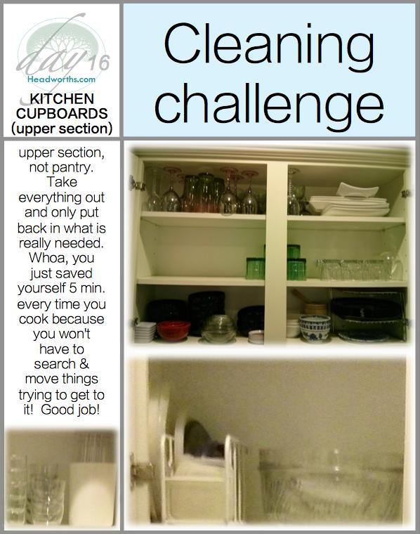 GET CLEAN CHALLENGE day 16
