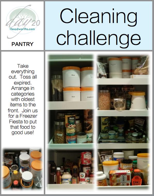 GET CLEAN CHALLENGE day 20