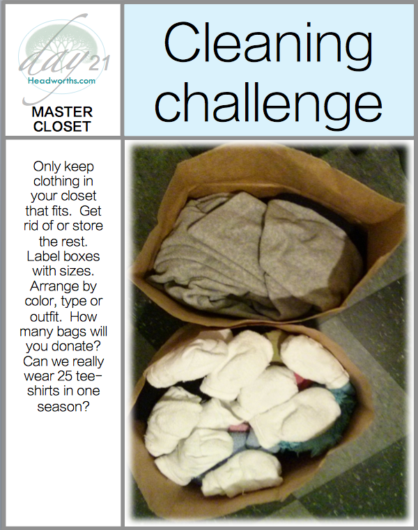 GET CLEAN CHALLENGE day 21