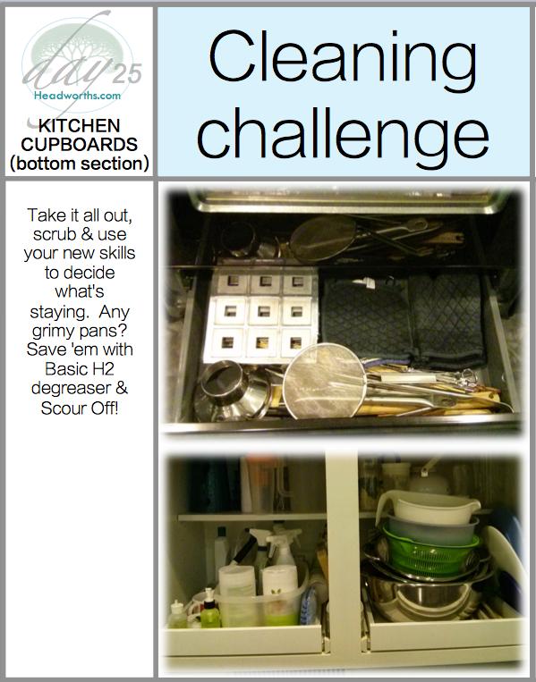 GET CLEAN CHALLENGE day 25