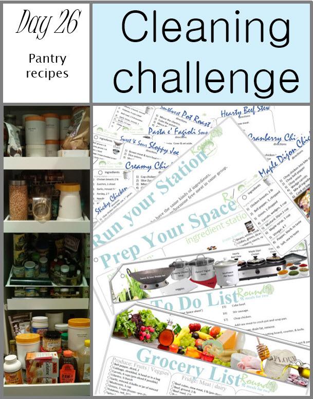 GET CLEAN CHALLENGE day 26
