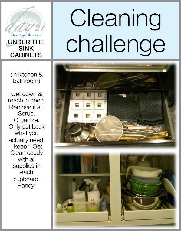 GET CLEAN CHALLENGE day 27