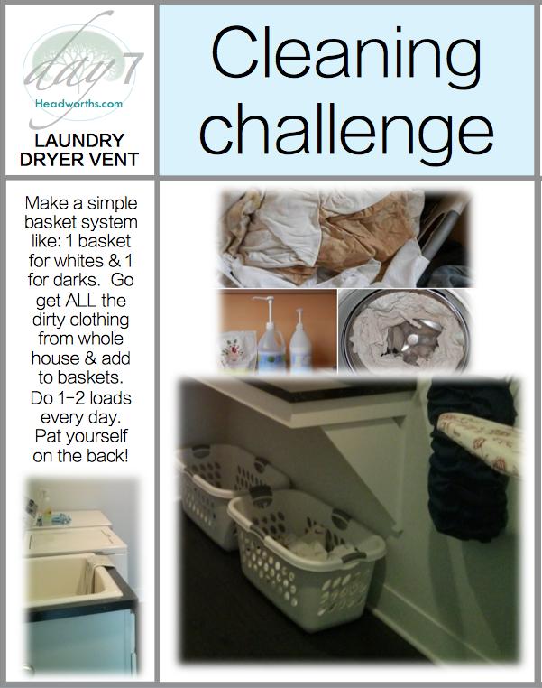 GET CLEAN CHALLENGE day 7