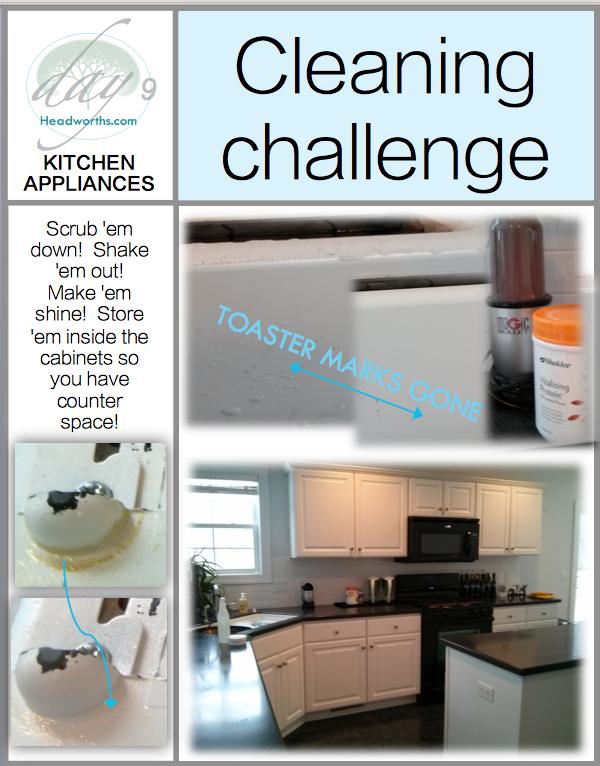 GET CLEAN CHALLENGE day 9