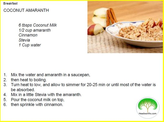COCONUT AMARANTH