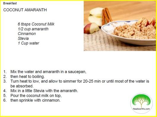 COCONUT AMARANTH