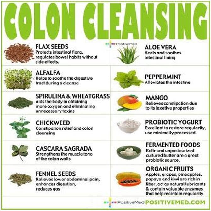 COLON CLEANSING FOODS | Healing Hope