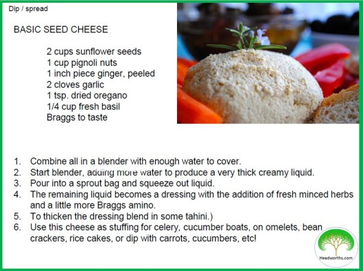 SEED CHEESE basic